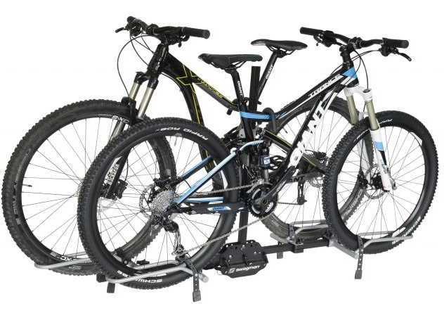 The XTC2 carries up to 2 bicycles