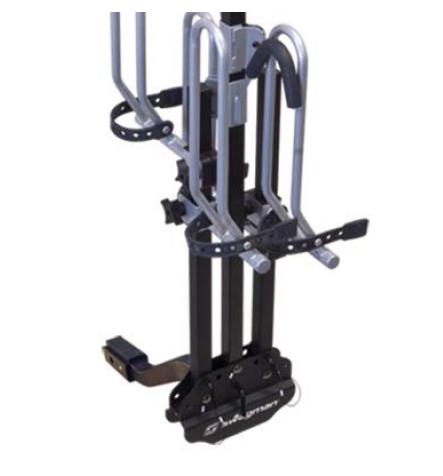 The XTC2 rack folds up vertically
