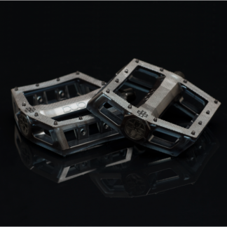 DUO Resilite PC Pedals Clear Smoke
