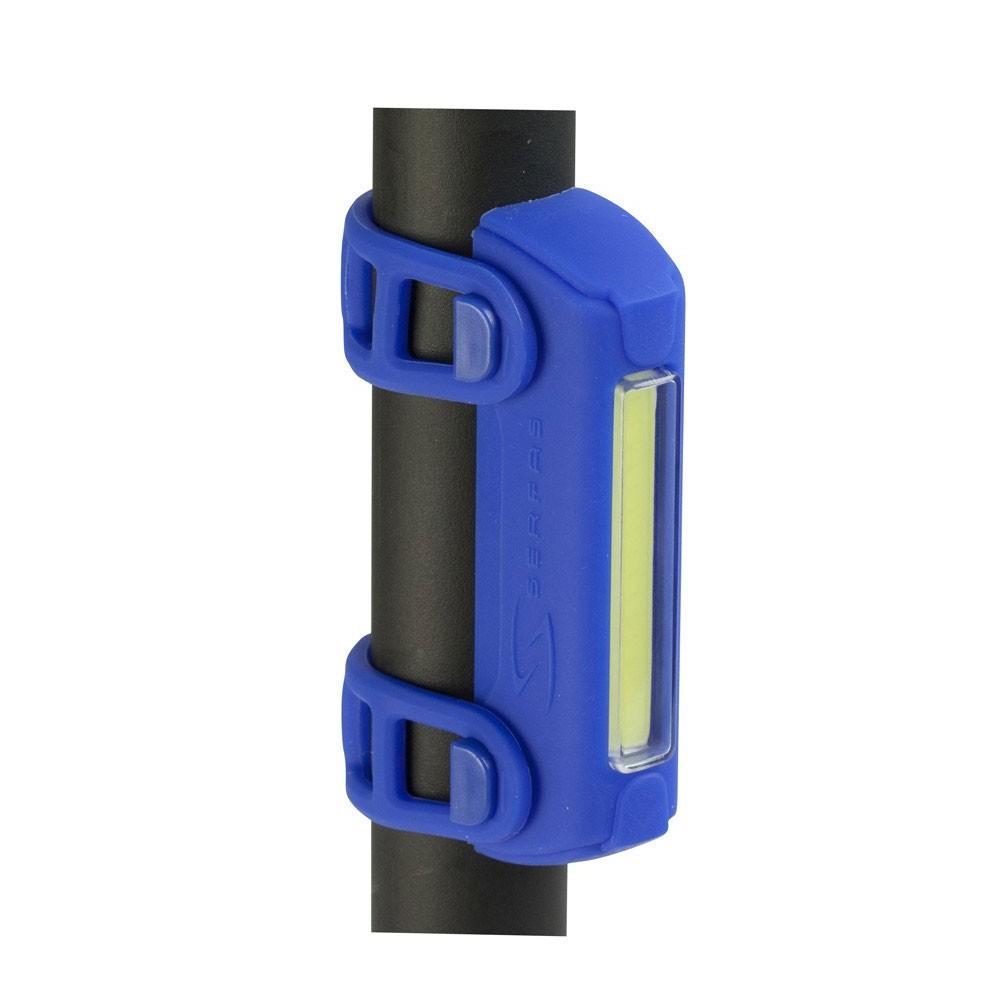 Serfas Thunderbolt Head Light (Black) (shown mounted)