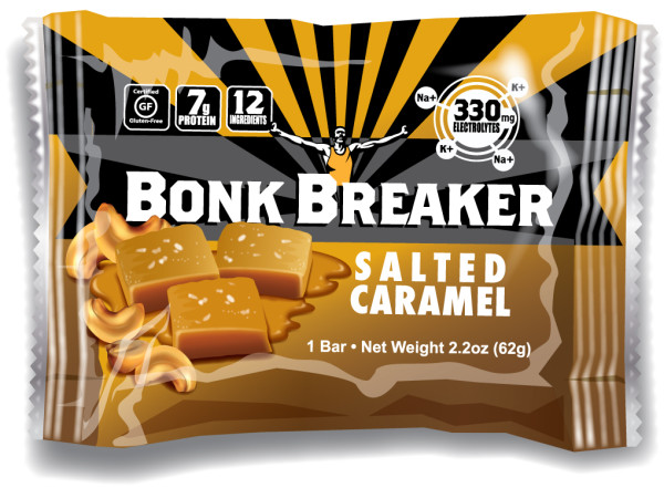 Bonk Breaker Salted Caramel Energy Bar