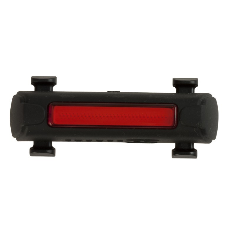 Serfas Thunderbolt Tail Light (Black) USB Rechargable