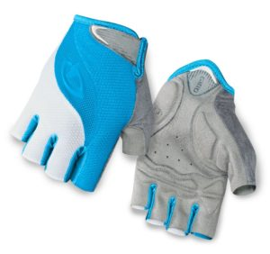 2015 Giro Tessa Gel Women's Glove Blue Jewel/White