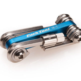 Park Tool I-Beam Mini Fold-Up Hex Wrench / Screwdriver / Star Driver Set (IB-2)