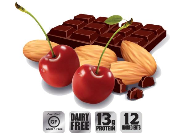 Bonk Breaker Protein Almond Cherry Chunk Energy Bar