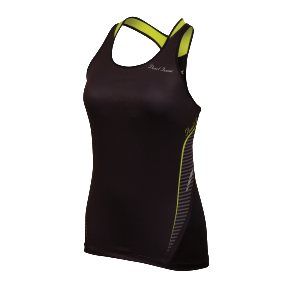 Pearl iZumi Fly In–R–Cool® Sport Tank Women's Black/Lime