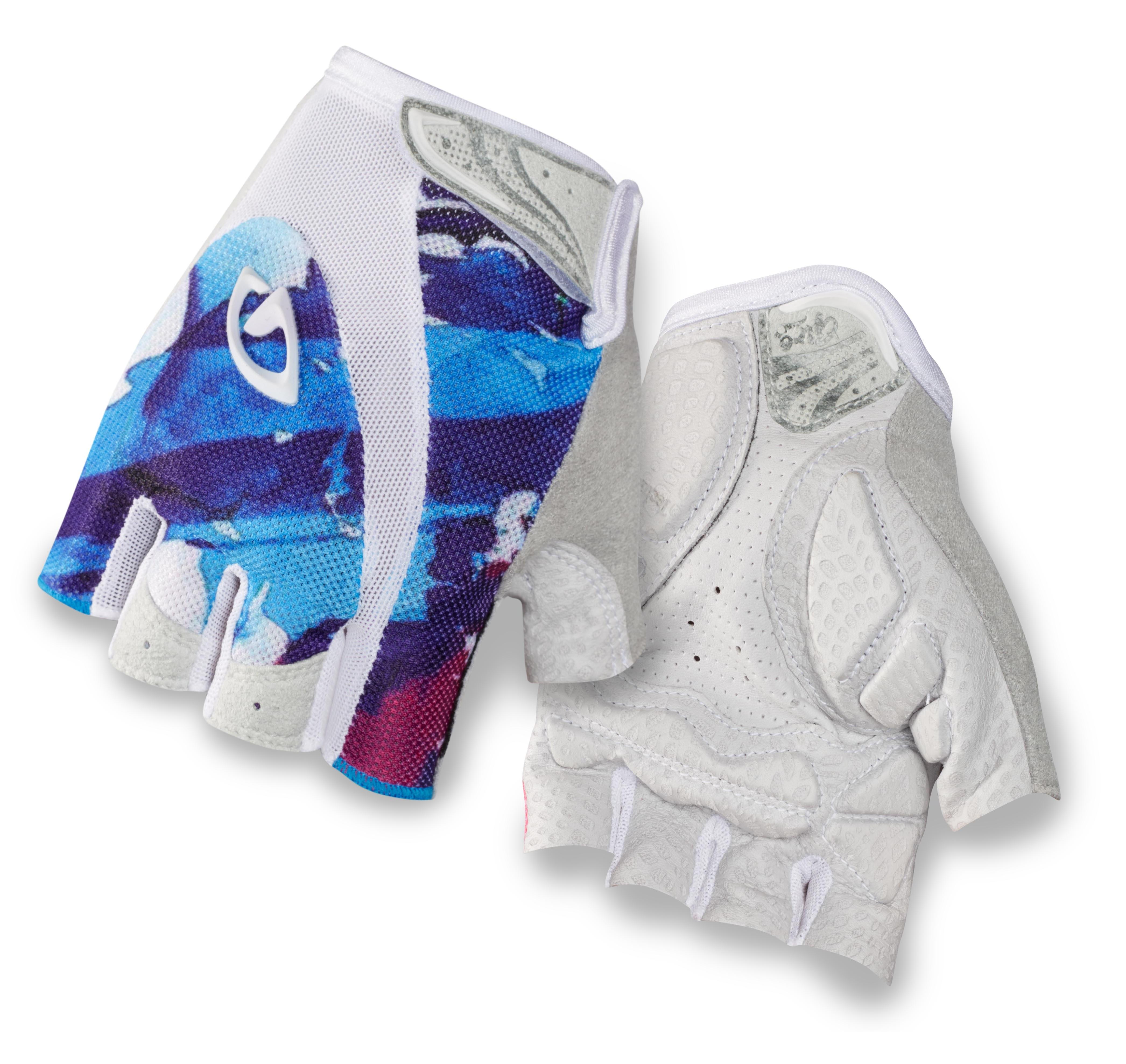 2014 Giro Monica Women's Glove White/Galaxy