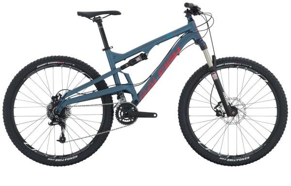 2015 Raleigh Kodiak 2 Blue Men's Full Suspension Mountain Bike