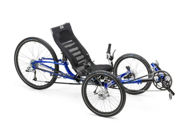 """ICE Adventure HD 26"""" Extra Wide Recumbent Trike (3 Wheeled Bicycle) NOTE:"""
