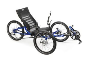 ICE Adventure HD RS Recumbent Tricycle (3-Wheeled Bicycle)