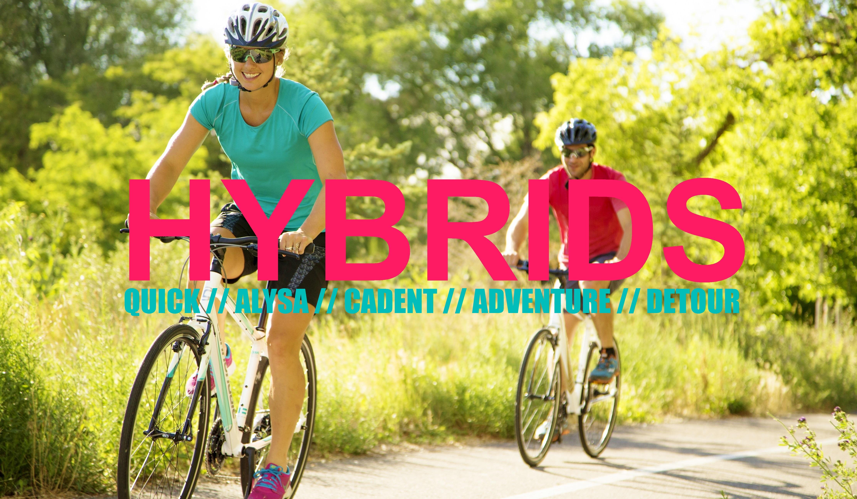 HYBRIDS: QUICK, ALYSA, CADENT, ADVENTURE, DETOUR