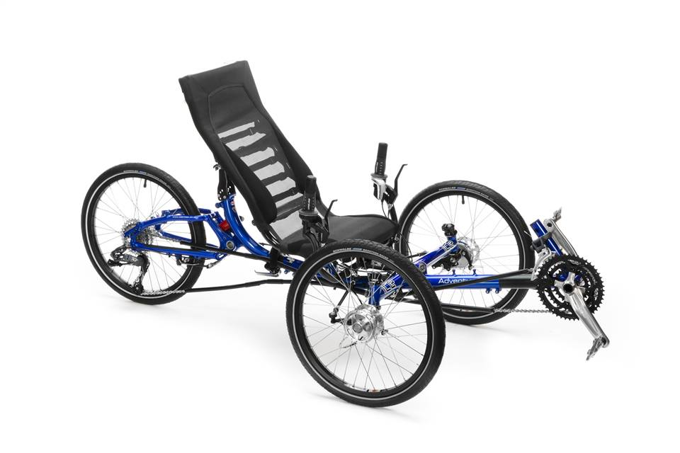 ICE Adventure RS Recumbent Tricycle (3-Wheel Bicycle)