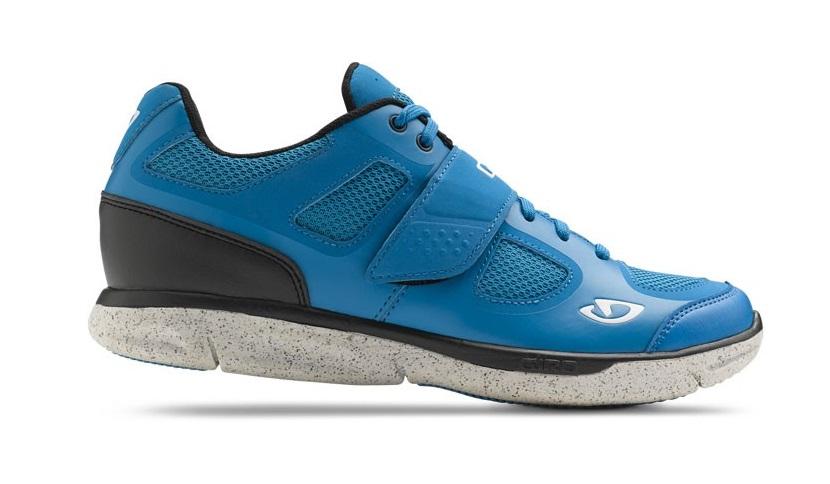 2015 Giro Whynd Blue Jewel/ Dark Shadow SPD Spinning Compatible Women's Shoe