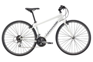 2017 Cannondale Quick 7 Lily White Women's Fitness Hybrid Bicycle