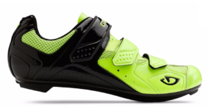 2015-2016 Giro Treble II Highlight/Black Mens Spinning Compatible Cycling Road Shoe