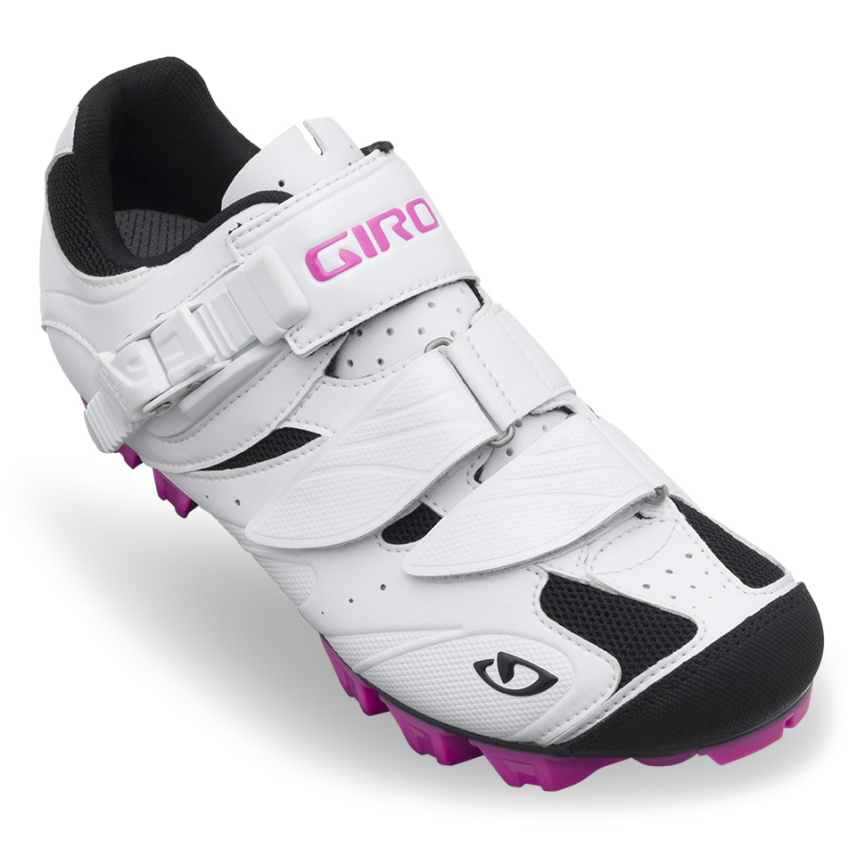 2014 Giro Manta Women's Mountain Shoe White/Rhodamine Red