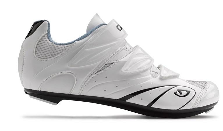 2013 Giro Sante Women's Road Shoe White/ Black/ Milky Blue
