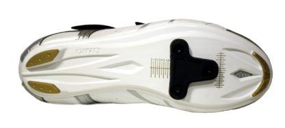 2013 Giro Sante White/Black/Gold SPD SL Compatible Women's Road Shoe