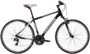 2014 Cannondale Quick CX 5 Black/Red Men's Dual Sport Bicycle
