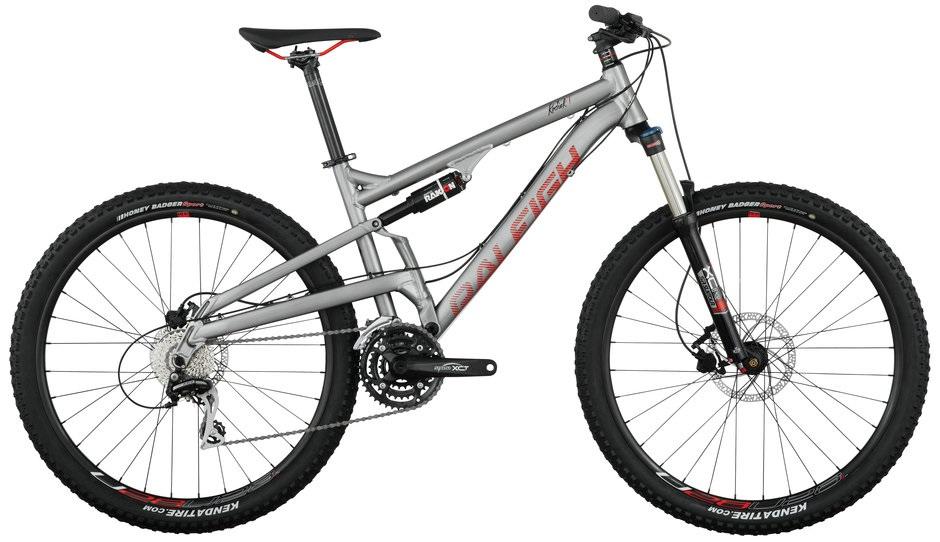 2016 Raleigh Kodiak 1 Silver Men's Full Suspension Mountain Bike