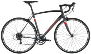 2016 Raleigh Merit Men's Silver/Red Endurance Road Bike