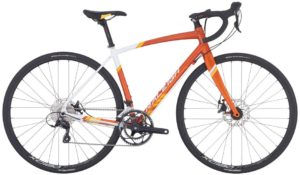 2016 Raleigh Revere 2 Women's Orange/White/Yellow Endurance Road Bike