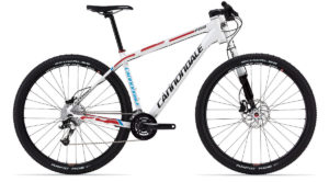 2013 Cannondale F29 1 White Men's Hardtail Mountain Bike