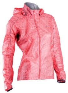 2015 Sugoi Women's Hydrolite Jacket Electric Salmon