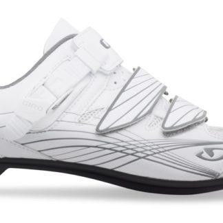 2014 Giro Solara Women's Road Shoe Patent White/Silver