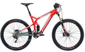2016 Cannondale Trigger 3 Acid Red Men's Full Suspension Mountain Bike