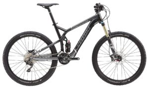 2016 Cannondale Trigger 4 Black Men's Full Suspension Mountain Bike