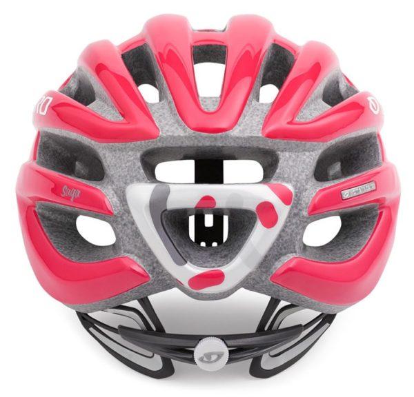 2016 Giro Saga Women's Road Helmet Coral Speckle