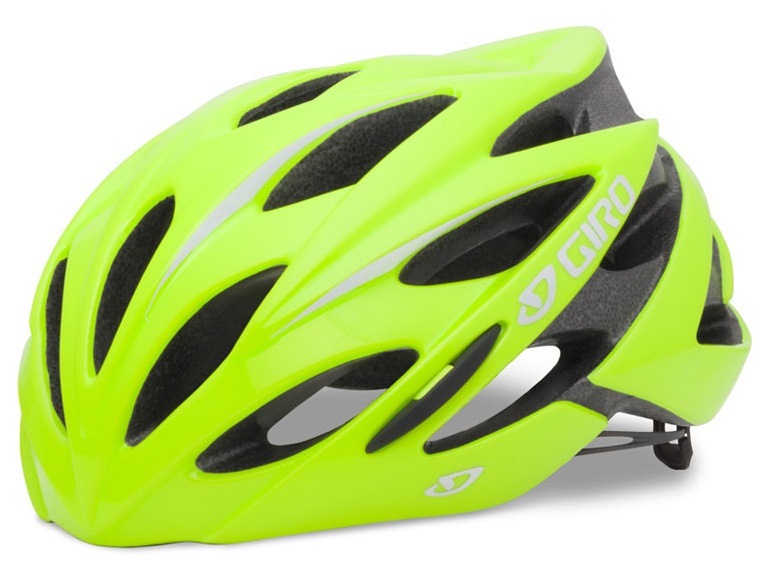 2016 Giro Savant Highlight Yellow Endurance Road Helmet