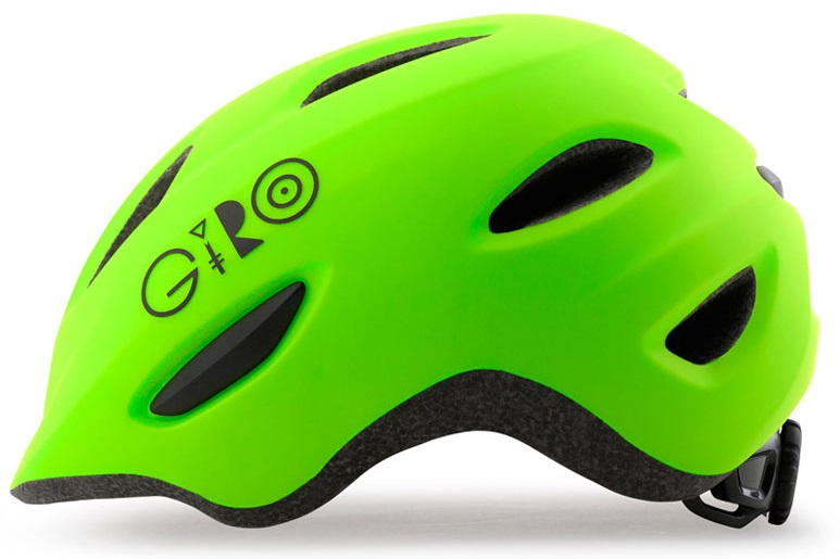 2016 Giro Scamp Matte Lime Toddler Helmet