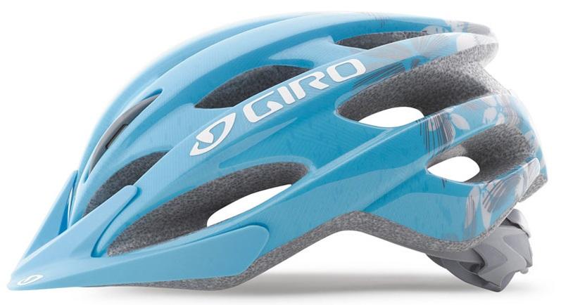 2016 Giro Verona Helmet Ice Blue Flowers