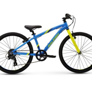 "2017 Raleigh Cadent 24 Blue Boy's 24"" Hybrid Bicycle"