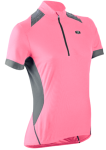 2015 Sugoi Women's Neo Pro Short Sleeved Cycling Jersey Pale Pink