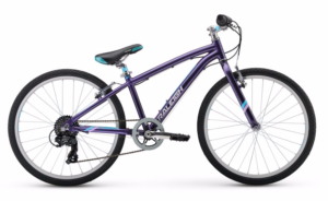 "2017 Raleigh Alysa 24 Purple Girl's 24"" Bicycle"