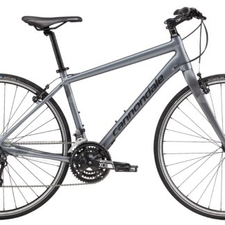 2017 Cannondale Quick 4 Gray Men's Fitness Hybrid