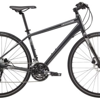 2017 Cannondale Quick 5 Disc Men's Fitness Hybrid Gray