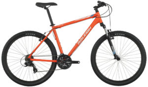 2016 Raleigh Talus 2 Orange Men''s Mountain Bike with Front Suspension