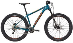 2017 Cannondale Cujo 2 Blue / Orange 27.5 Plus Mountain Bike