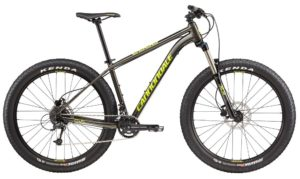 2017 Cannondale Cujo 3 Charcoal / Neon Spring 27.5 Plus Mountain Bike