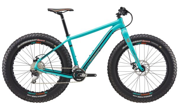 2017 Cannondale Fat CAAD 3 Turquoise Fat Tire Bike