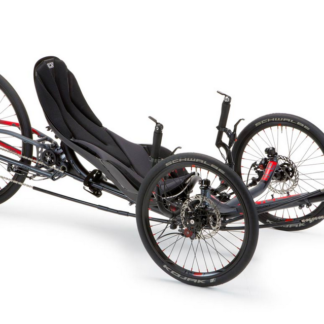 ICE Sprint X Grey Folding Recumbent Trike
