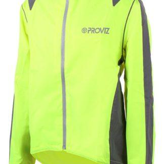 Proviz Nightrider Mens Cycling Jacket Yellow