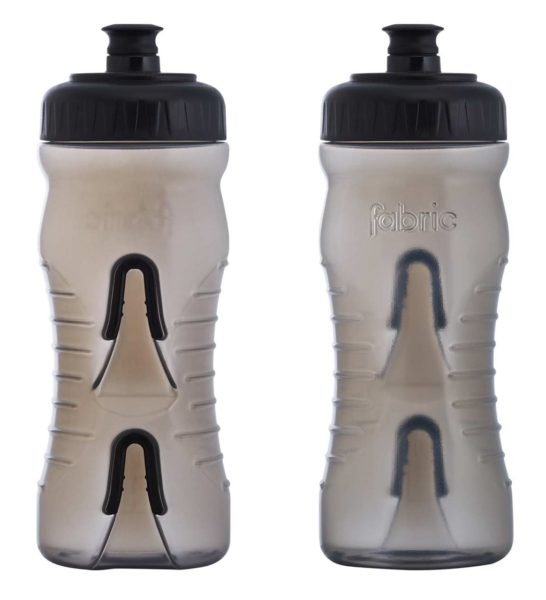 Fabric Cageless Water Bottle 600ml Smoke Black