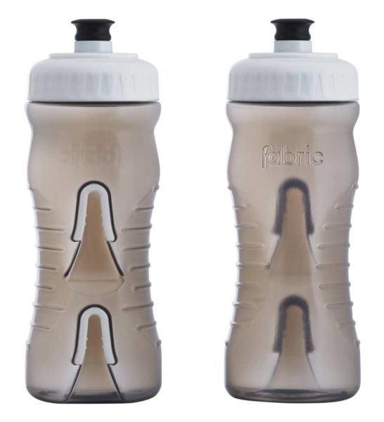 Fabric Cageless Water Bottle 600ml Smoke White