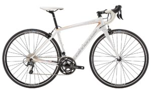 2016 Cannondale Synapse Carbon Women's 6 Tiagra White/Orange