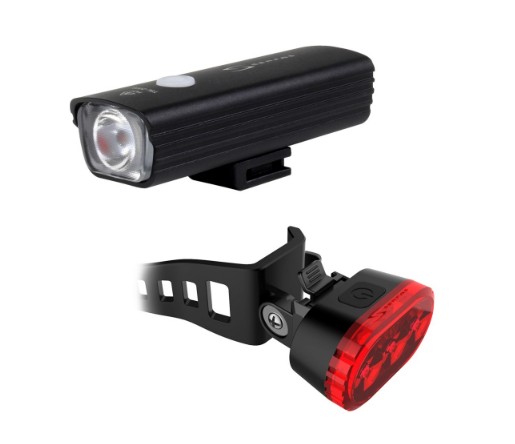 Serfas E-Lume 200/15 Combo USB Rechargeable Light Set